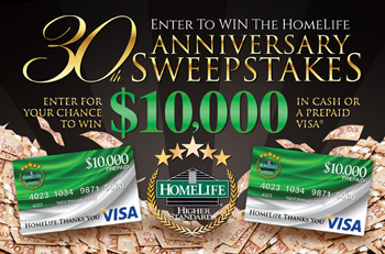 HomeLife Sweepstakes Chilliwack British Columbia